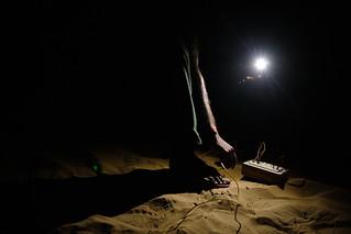 India - Desert - Electricity