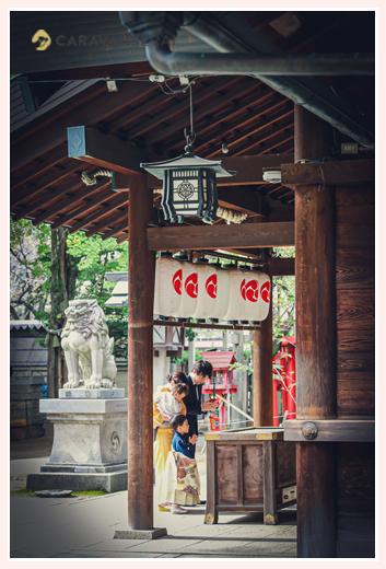 那古野(なごや)神社で七五三のロケーションフォト