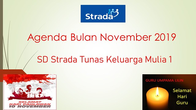 Agenda Bulan November 2019