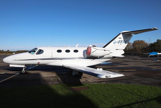 G-FFFC Flairjet Cessna 510 Citation Mustang at Blackbushe Airport (BBS/EGLK)