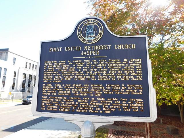First United Methodist Church Marker
