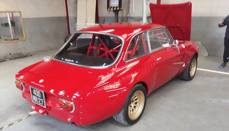 Alfa Giulia Sprint 1300 GTA reconstruction 2.0 litres T.S. 49038386912_2b7f02bce8_c
