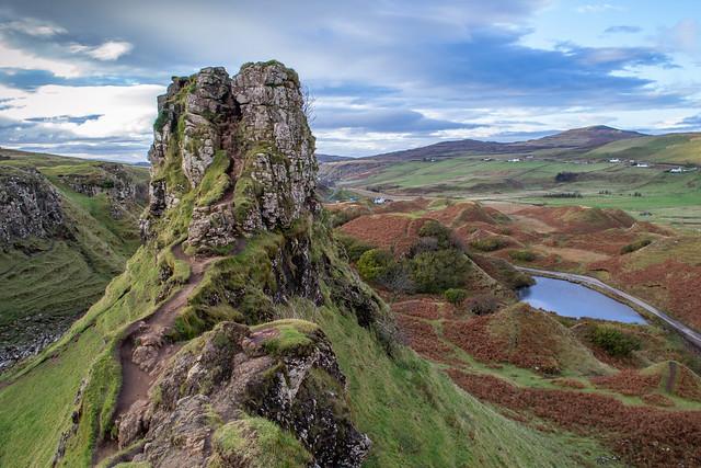 Fairy Glen, Uig- Isle of Skye.