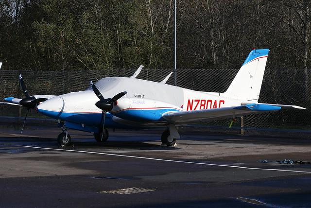 N780AC Private Piper PA-30 Twin Comanche C at Blackbushe Airport (BBS/EGLK)