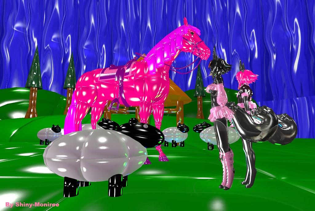 Sexy horse furry
