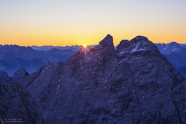 Sunrise at Öfelekopf N°2