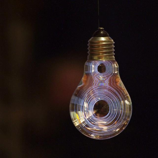 Dark spiral bulb