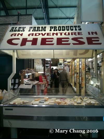 Alex Farm Adventure in Cheese at St. Lawrence Market