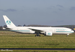 Crystal Luxury Air (Comlux Aruba) 777-200(LR) P4-XT