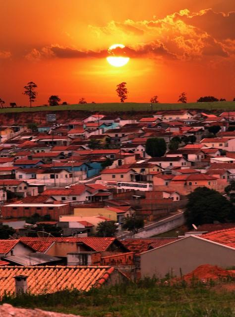 Pôr do sol de Jacutinga