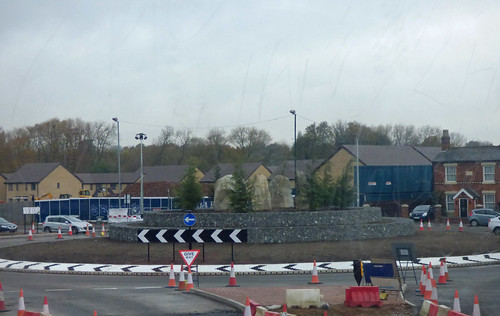 New roundabout - Station Road, Stechford