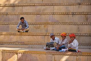 India - Jaisalmer - Musicans
