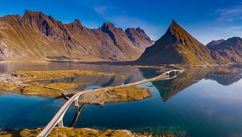 Fredvang-Bridges-Lofoten Islands