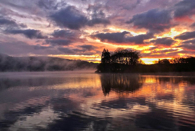 Dawn on Lake Windermere