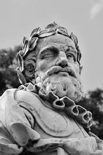 Portuguese Poet:Luiz Vaz de Camões (c.1524 - 1580) - Bust Sculpture
