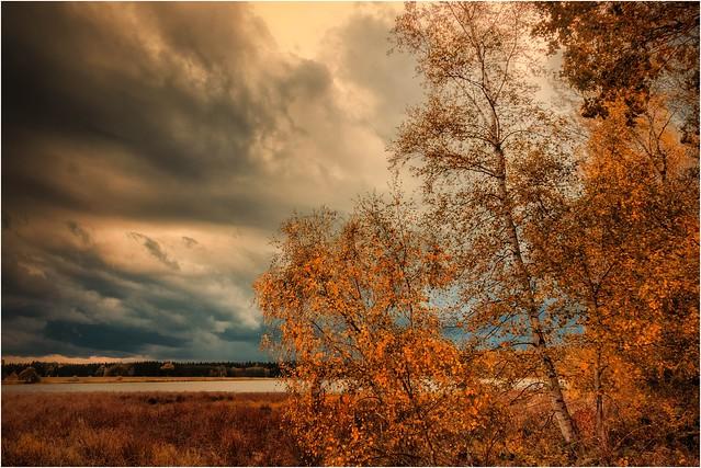 Herbstwolken