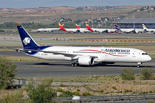AeroMexico Boeing 787-958 XA-ADH MAD 15-10-19
