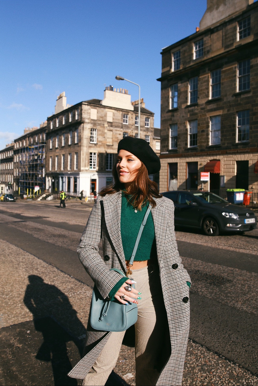 The Little Magpie One Coat Styled Three Ways Scottish Blogger