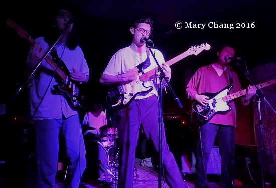 The Magic Gang CMW 2016 at the 300 Club Mar on Music Wednesday