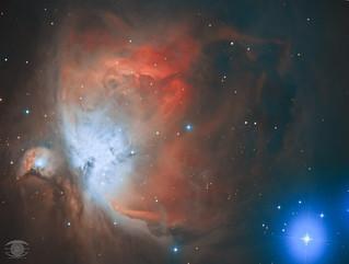 M42 - The Orion Nebula (HaOIIIRGB)