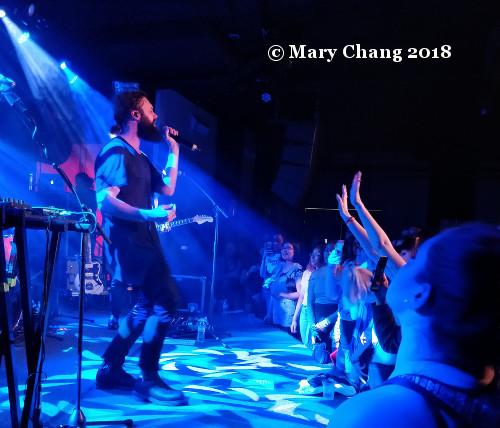 Mikky Ekko Sirius XM Alt Nation Advanced Placement tour Washington 2