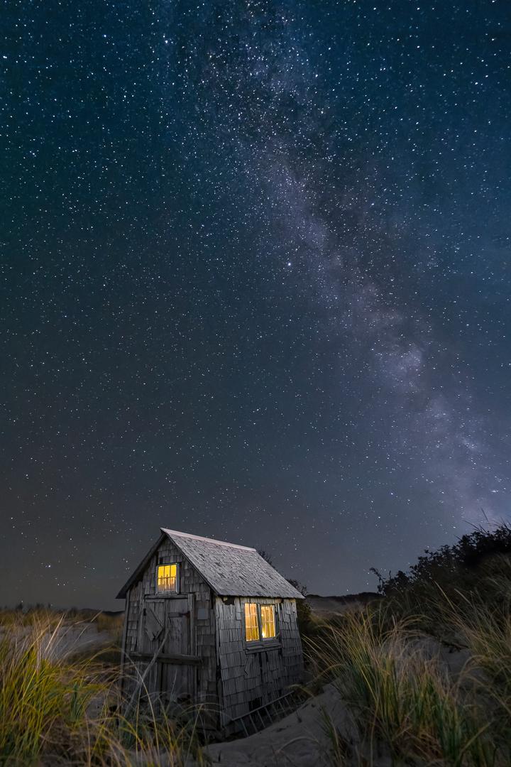 Cabane sous les étoiles