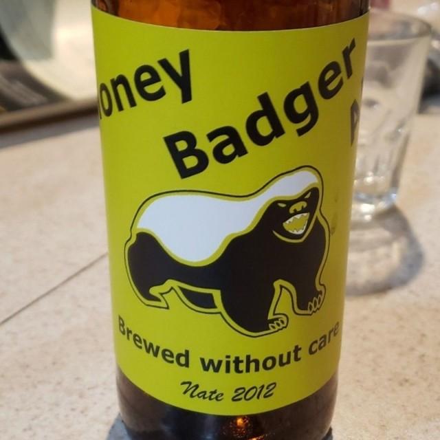 Honey Badger Homebrew