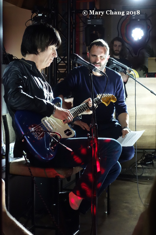 Johnny Marr and Shaun Keaveny Thursday The Great Escape 2018