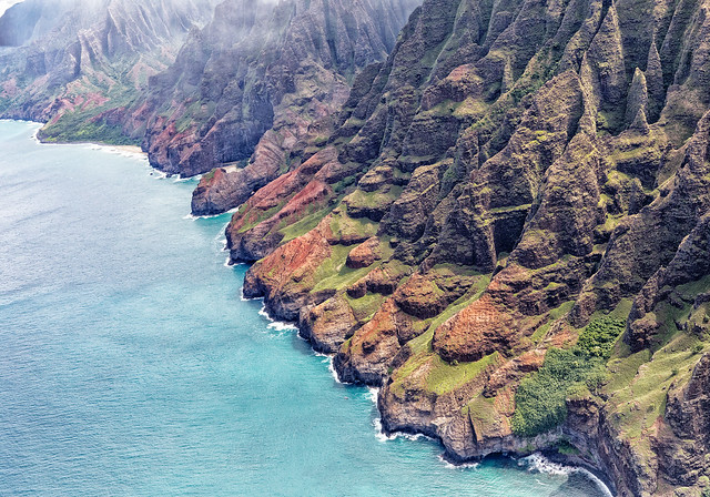 Misty Na Pali Coast (Helicopter)