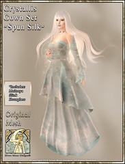Crystallis Gown Set-Spun Silk Promo Art