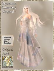 Crystallis Gown Set-Crystal Promo Art
