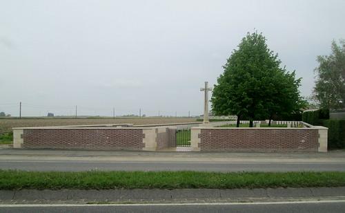 Exterior, Seaforth Cemetery St Julien, Belgium