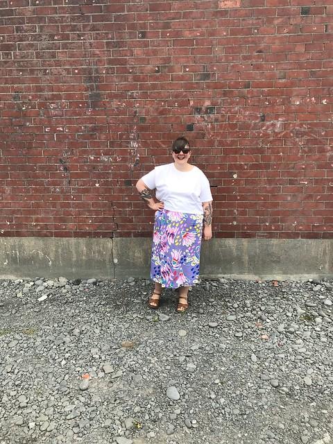 Peppermint Wrap Skirt Cotton 2