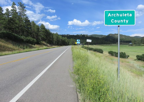 colorado co landscapes archuletacounty sanjuannationalforest nationalforests unitedstatesforestservice countysigns northamerica unitedstates us rockymountains