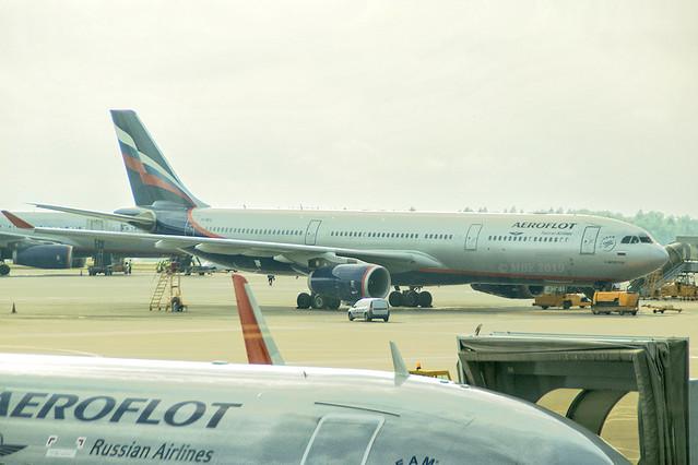VQ-BCU | Aeroflot Airlines | Airbus A330-343 | CN 1065 | Built 2009 | SVO/UUEE 14/06/2019