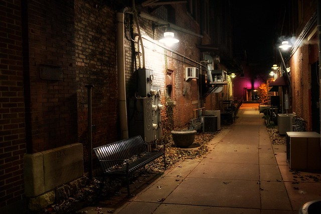 Back Alley Moline [Explored]