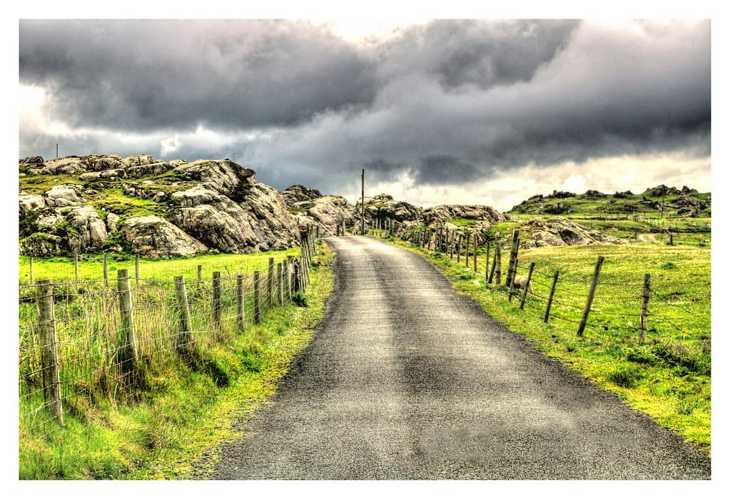 Malin Head IR - Road