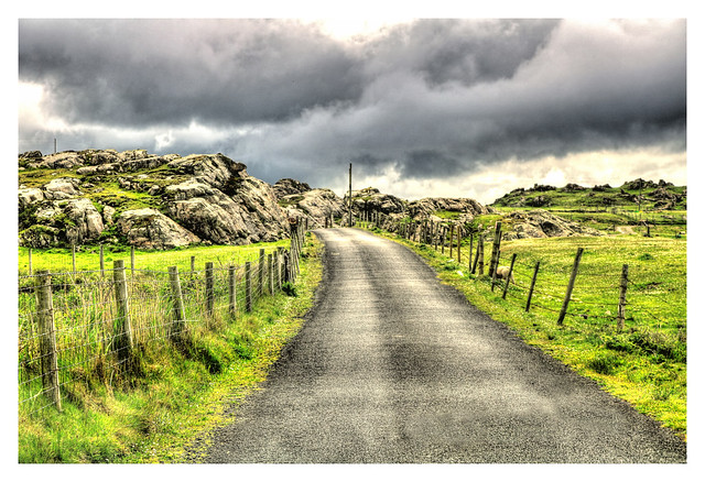 Malin Head IR - Road