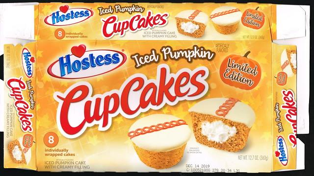 Hostess - Cup Cakes - Iced Pumpkin - 2019