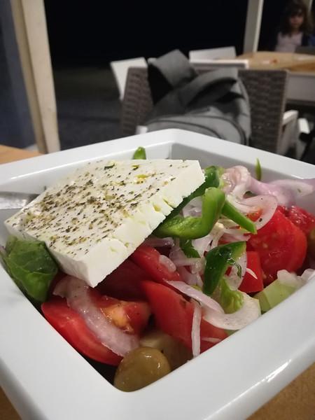salade grecque de chez Kosi