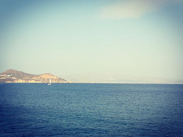 départ en mer de bon matin