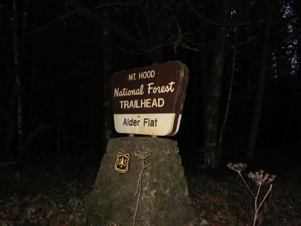 Alder Flat Trailhead
