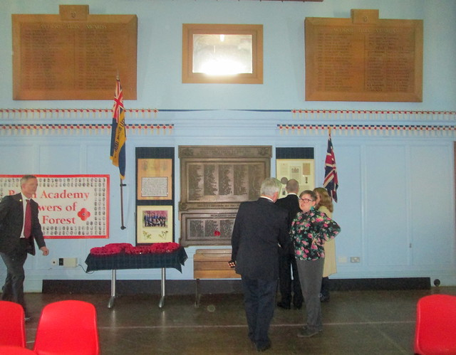 World War 1 Memorial, Perth Academy, Scotland