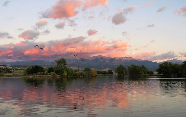 Early Morning at Frantz Lake