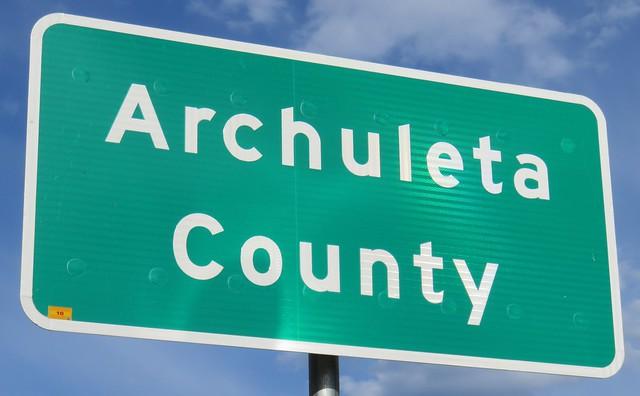 Archuleta County Sign (Archuleta County, Colorado)