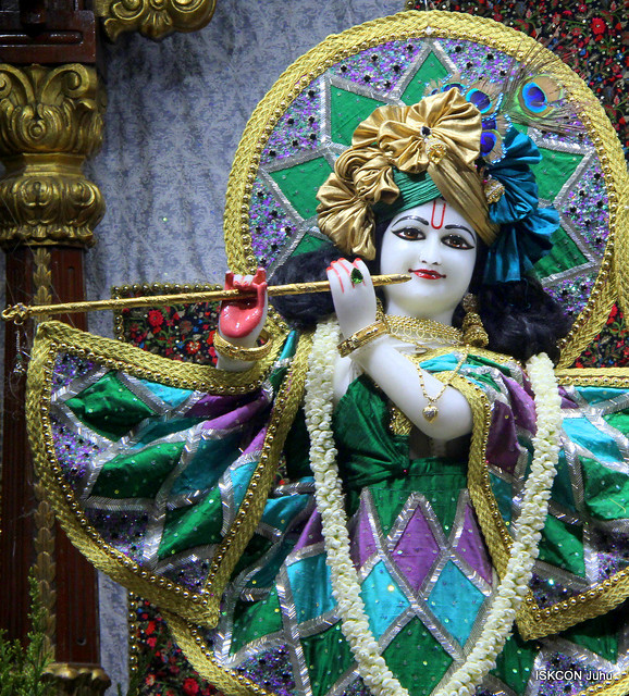 ISKCON Juhu Mangal Deity Darshan on 10th Nov 2019