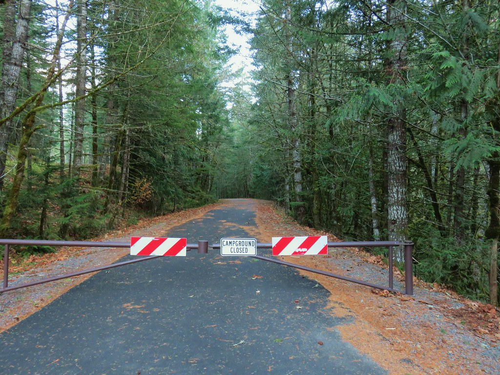 Gate at Rainbow Campground