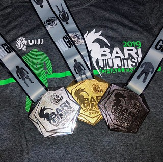 Le medaglie conquistate