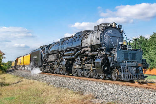 up bigboy steam engine 4014 4884 passenger train unionpacific tx texas eaglelake psaho2