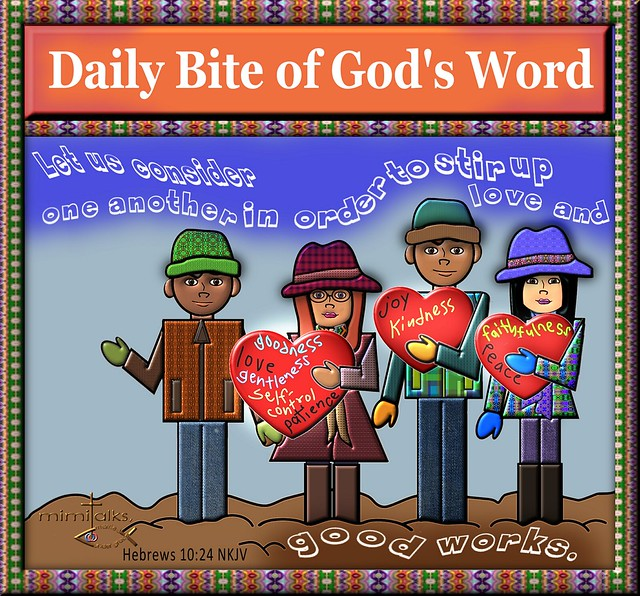 Daily Bite of God's Word my take 1